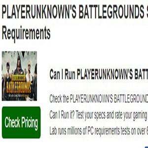 ¿Podré Jugar? Requisitos Playerunknown's Battlegrounds