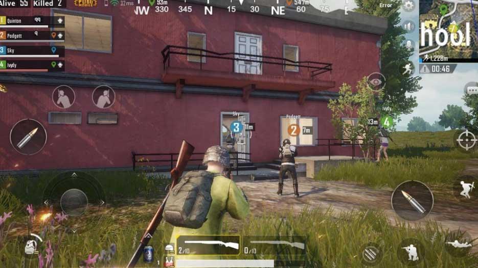 asaltar edificios en PUBG imagen