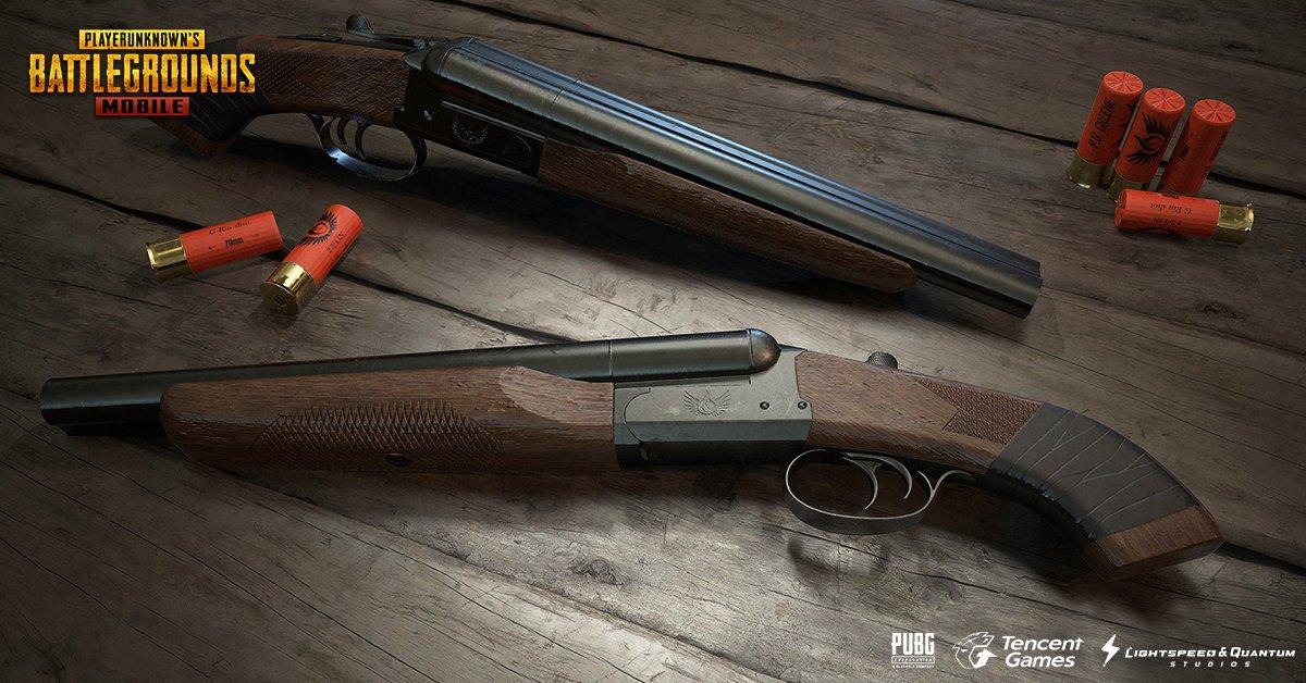 escopetas pubg