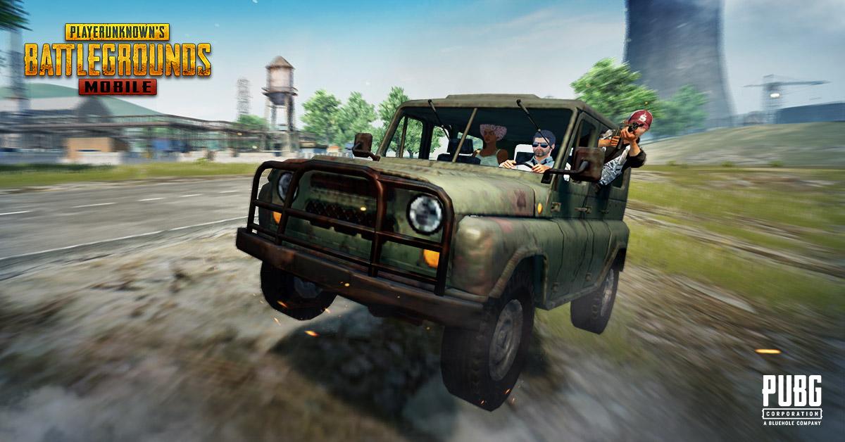 jeep pubg mobile