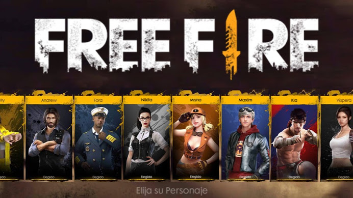personajes free fire